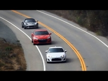 TESTAS: FRS (GT86, BRZ) vs Genesis Coupe vs Lotus Elise