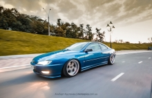 Peugeot 406 on air