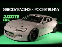 Rocket Bunny GReddy Racing 2JZGTE Scion FRS Turbo