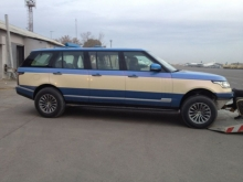 Range Rover Vogue pagal arabus
