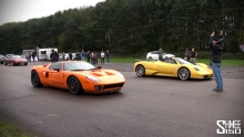 Dragas: Pagani Zonda S Roadster vs Ford GT 720 Mirage