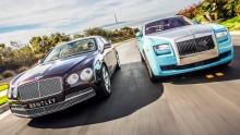 2014 Bentley Flying Spur vs. 2014 Rolls-Royce Ghost!