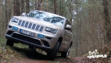 Jeep Grand Cherokee with diesel engine