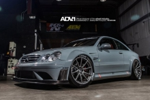 Mercedes CLK63 AMG Black su ADV.1 Wheels diskais