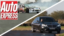 New Mercedes S63 AMG vs Nissan 200SX
