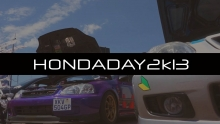 HondaDay 2K13