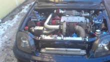 Honda prelude turbo + supercharger 570ag