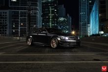 Mercedes-Benz C63 AMG Black Series Lowered su Vossen ratlankiais