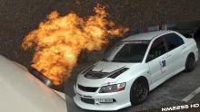 500HP Lancer EVO 9 Tanabe Exhaust OnBoard and Flames!