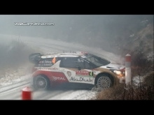 Best of WRC Montecarlo 2014 Drift, Crash & Maximum attack