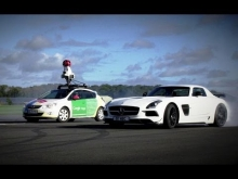 The Stig Vs. Google Street View Car