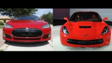 2013 Tesla Model S P85 vs 2014 Chevrolet Corvette C7 Z51