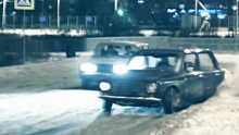 LADA 2107 Snow Drift Day