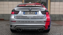 BMW X6M Bi-Turbo garsas
