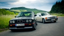 BMW E30 M3 Vs Mercedes-Benz 190E 2.3-16