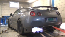 1200HP Total Car Concept build Switzer E1K GT-R dyno runs