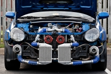 Twin turbo Subaru Impreza STi