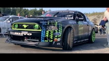 Vaughn Gittin Jr & MagnaFlow at Gatebil 2013