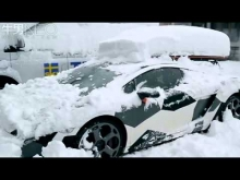 Lamborghini Gallardo LP560 Snow drift