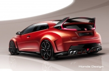 Devilish Civic TYPE R Concept for 2014 Geneva Motor Show