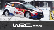 Robert Kubica Special Rally Sweden 2014