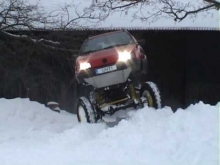 Passat 4x4 off-road winter fun