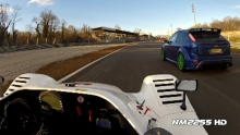 270km/h in Radical SR8 V8 on Track!