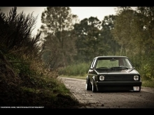 1983 VW Golf Mk1 / Air Ride