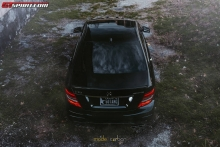 Mercedes-Benz C63 AMG Edition 507 patobulintas Mode Carbon