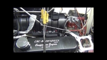 BB Chevy 555 with 10/71 Blower, 1300+ Horsepower Built By CNC-Motorsports