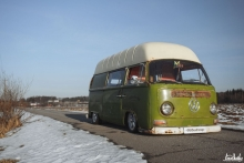 Air-Cooled Snowdrop Volkswagen Transporter 2