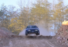 Monster Drift: Vaughn Gittin Jr. gets nuts in his backyard!