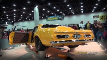 2014 Ridler Winner start-up at Autorama