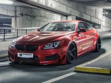 Naujas Prior Design body kit'as skirtas BMW 6 Series
