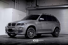 BMW X5 (E70) su D2Forged ratais