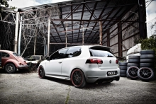 Volkswagen Golf GTI Edition 35 su Dotz Shift patobulinimais