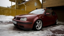 Volkswagen Golf: Mk4 on Air