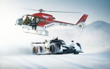 Supercar Drifting Uphill in Snow - Jon Olsson Rebellion R2K