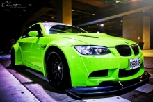 BMW M3 Coupe (E92) nuo Liberty Walk ir iPE Innotech