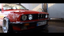 The Red BMW E30