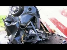 Ford Focus 120mph Crash Test