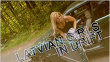 Latvian Girls in Drift