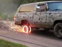The Best Burnout EVER!!!!
