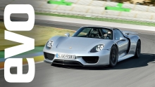 Porsche 918 Spyder first drive review | evo DIARIES
