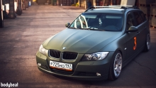BMW 3 series Touring (E91): Matte