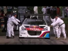 Sebastien Loeb on Goodwood Festival of Speed 2014