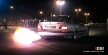 BMW E36 1JZ Single Turbo - 515whp - ANTILAG FIRE!