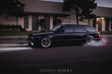 480-HORSEPOWER TURBOCHARGED E34 WAGON