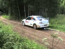 300 LAKES RALLY 2013 crashes & mistakes