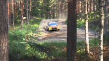 WRC Rally Finland 2014, Karl Kruudas crash